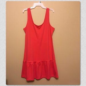 Other - Pinkish orange bathing suit cover up